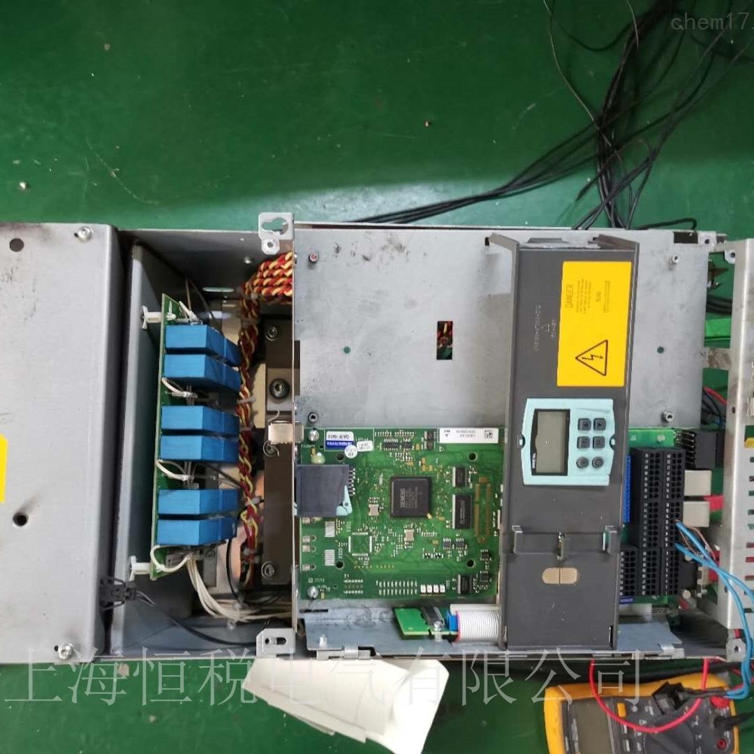 西门子6RA80调速器开机启动面板无显示维修