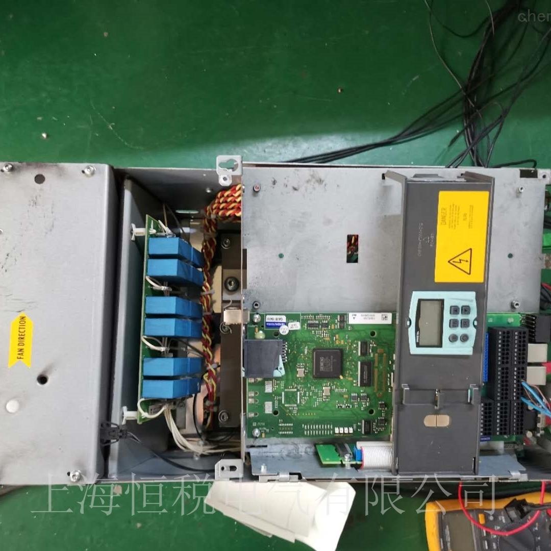 西门子6RA80调速器开机报故障坏维修方法