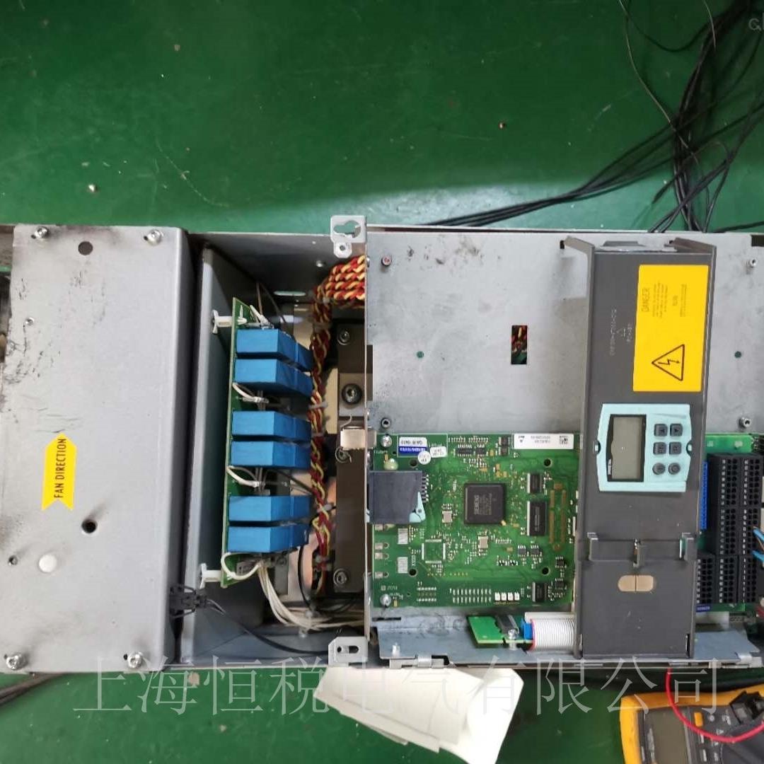 西门子6RA80启动报警F60094一天修好