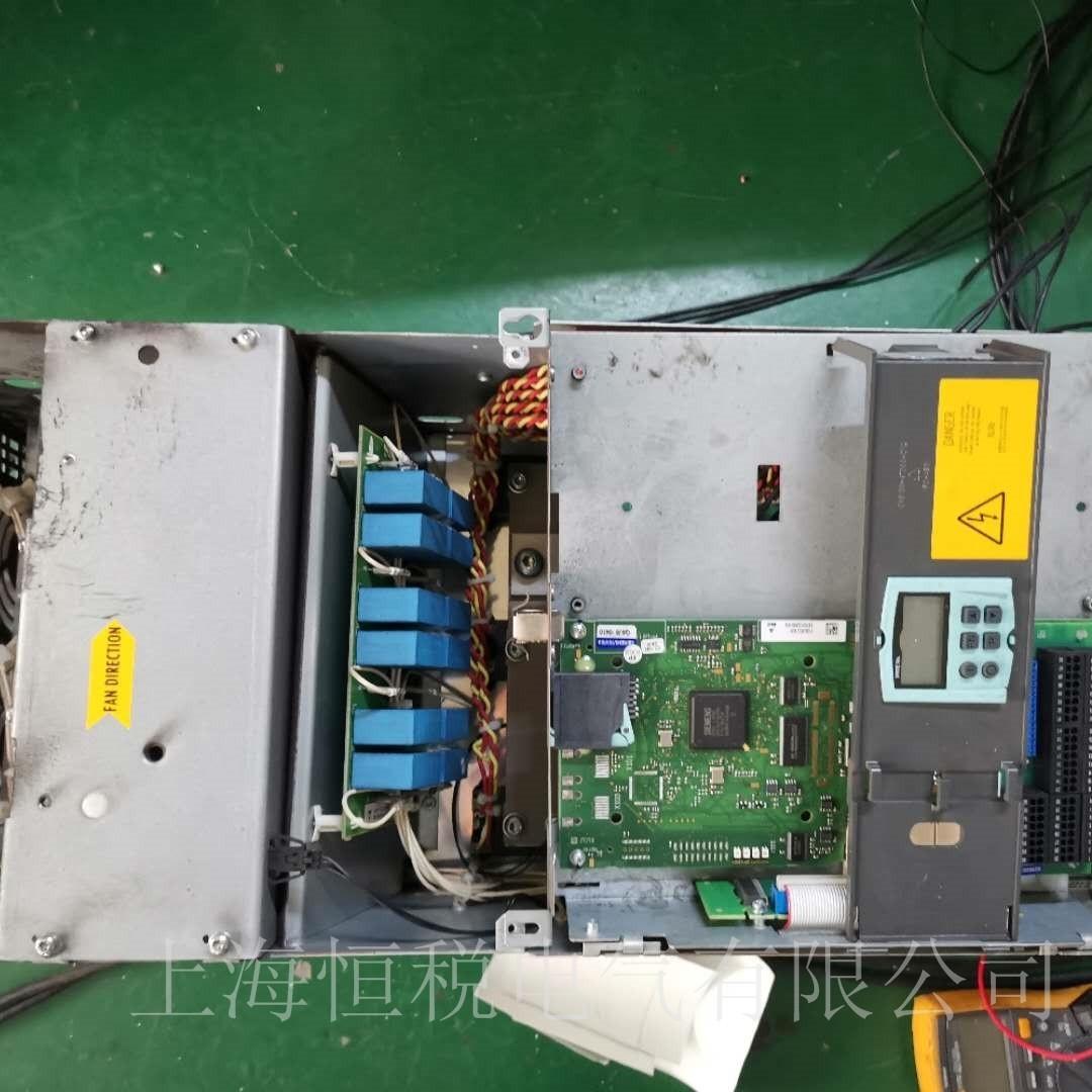 西门子6RA80开机面板无显示故障检测