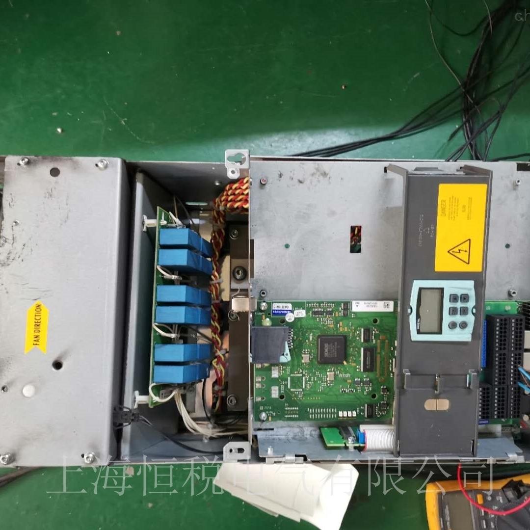 西门子调速器6RA80开机报警F60005维修检测