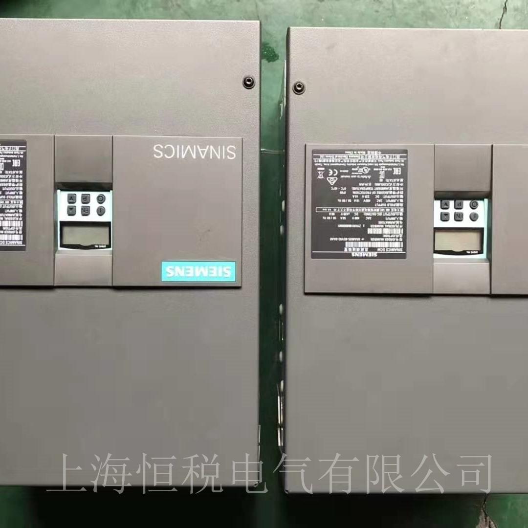西门子调速器6RA80故障报警F60105修复