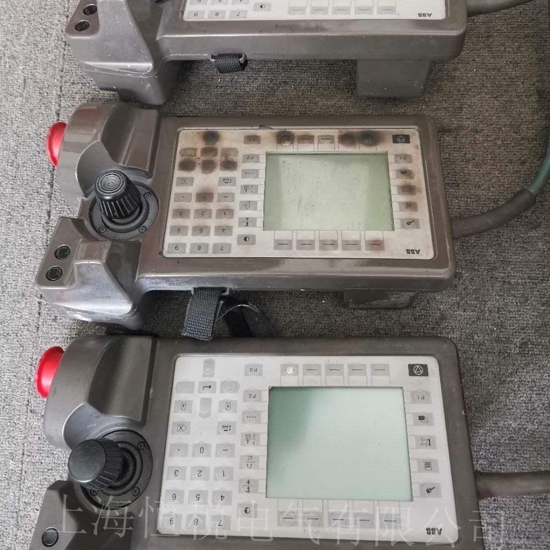 ABB喷涂机器人主机显示红灯闪烁修复解决