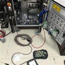 ABB上门维修ABB机器人IRC5示教器上电显示白屏故障解决