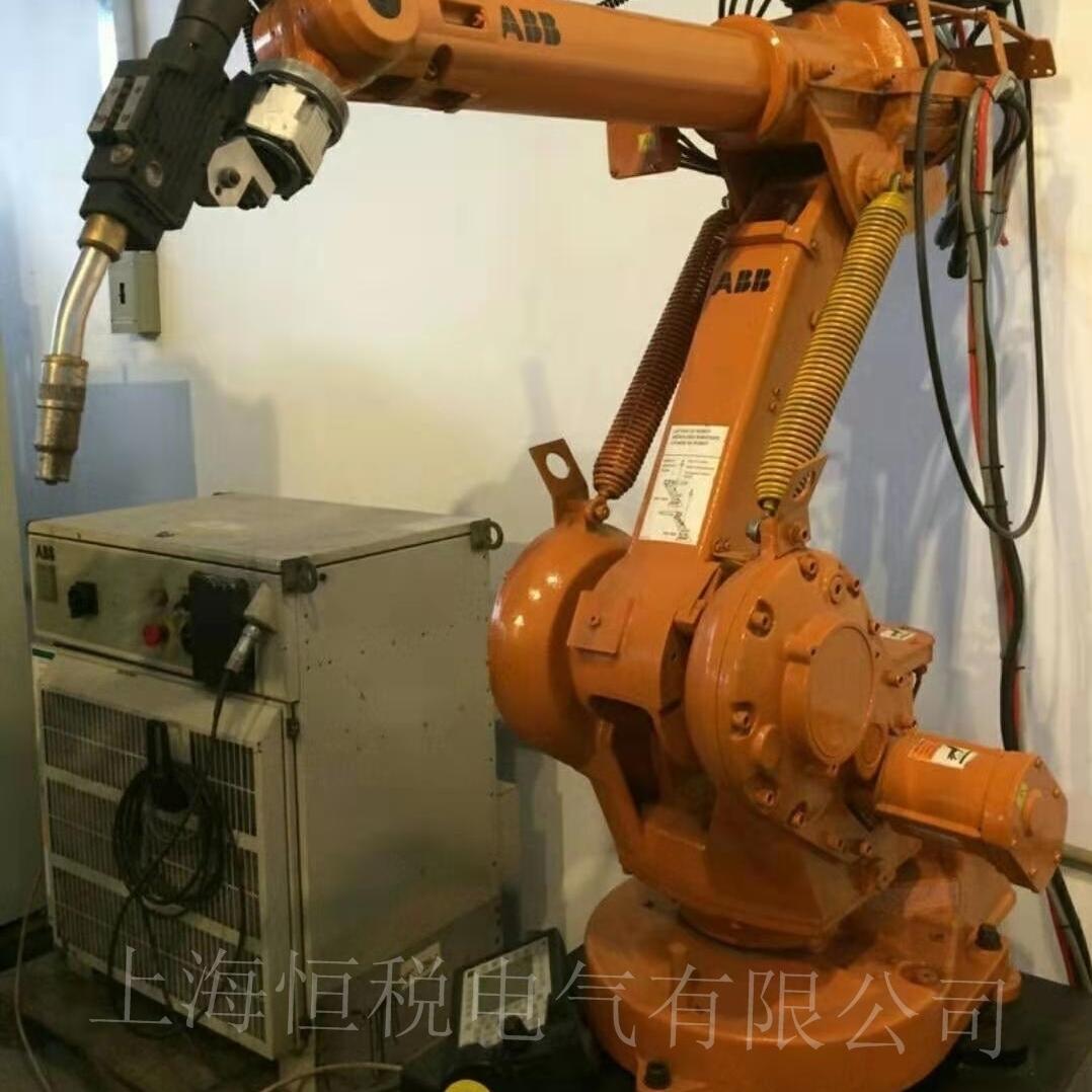 ABB机器人IRC5示教器通电反复重启故障修复