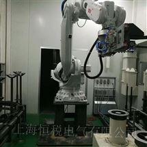 ABB维修厂家ABB机器人IRC5示教器通电显示蓝屏修复技巧