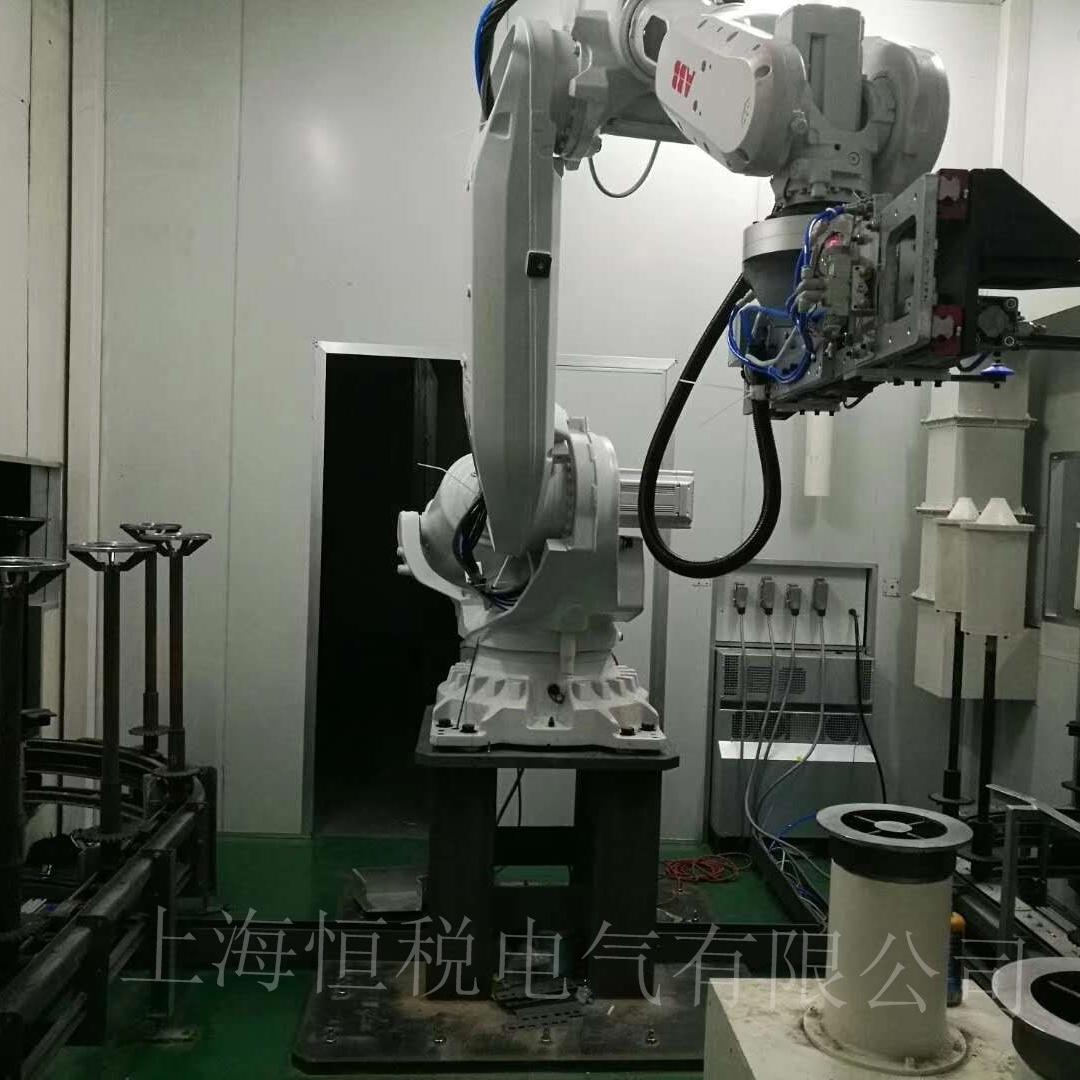 ABB机器人IRC5示教器玻璃破损维修更换