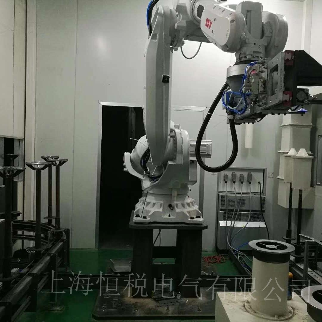 ABB机器人IRC5示教器上电显示闪屏/花屏维修