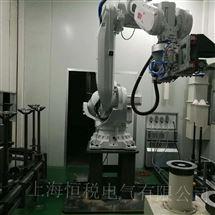 ABB修好可测ABB机器人IRC5示教器上电显示闪屏/花屏维修