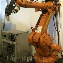 ABB修好可测ABB机器人操作手柄开机进不去系统解决方法