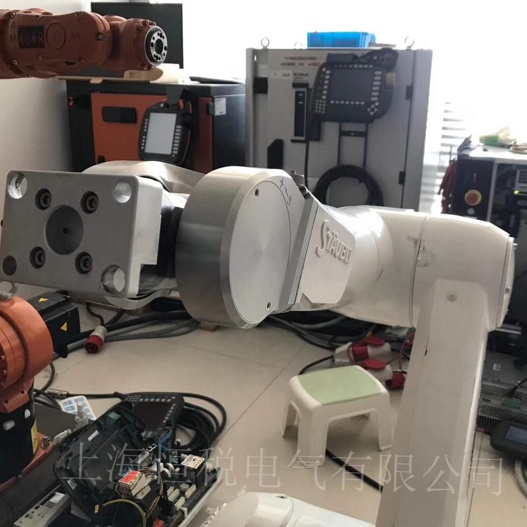 ABB机器人操作手柄启动无法进入系统修复