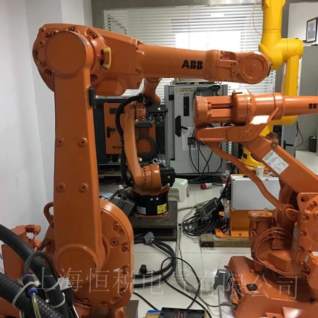 ABB机器人操作手柄通电显示白屏故障解决