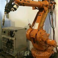 ABB机器人操作手柄开机走一半不动维修技巧