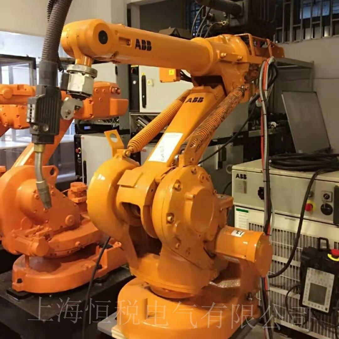 ABB机器人操作手柄上电启动无反应十年修复