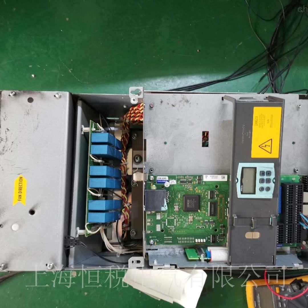 西门子6RA8095报警F60052故障解决方法