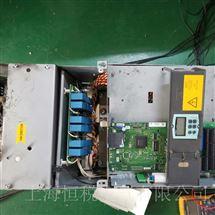6RA80一天修好西门子变频器开机显示报警F60095维修检测