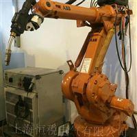 ABB机器人示教器报警电机相短路可上门维修