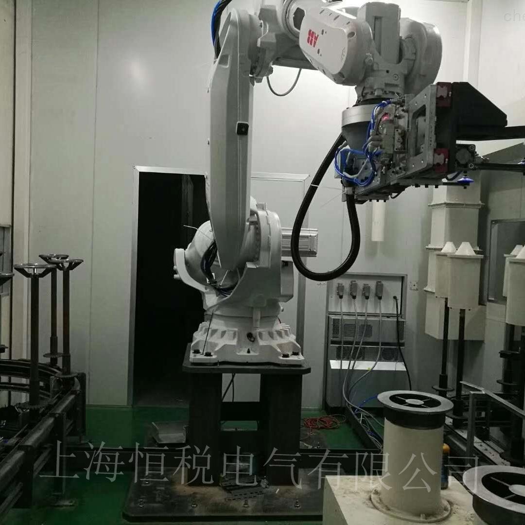 ABB喷涂机器人示教器开机进不去系统修复