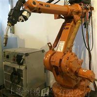ABB喷涂机器人示教器控制杆无反应修理检测