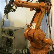 ABB一天修好ABB喷涂机器人示教器控制杆无反应修理检测