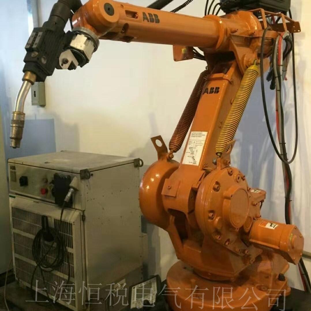 ABB机器人报警驱动单元的通信中断上门修理