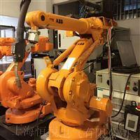 ABB机器人显示报警电机电流错误修理方法