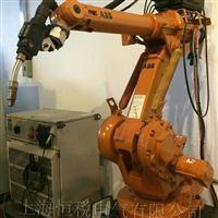 ABB机械手示教器开机进不去系统主界面修理