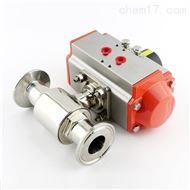 气动快装式卫生级球阀Q681F供应厂家
