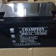 12V65AH冠军蓄电池NP65-12区域代理