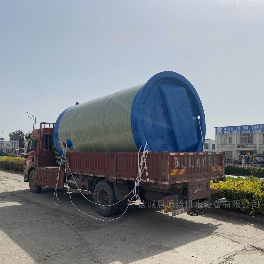 绵阳一体化预制泵站解决污水问题