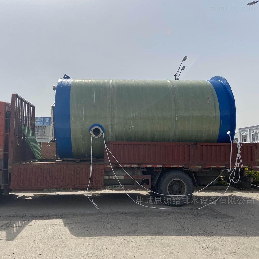成套一体化预制泵站玻璃钢筒体