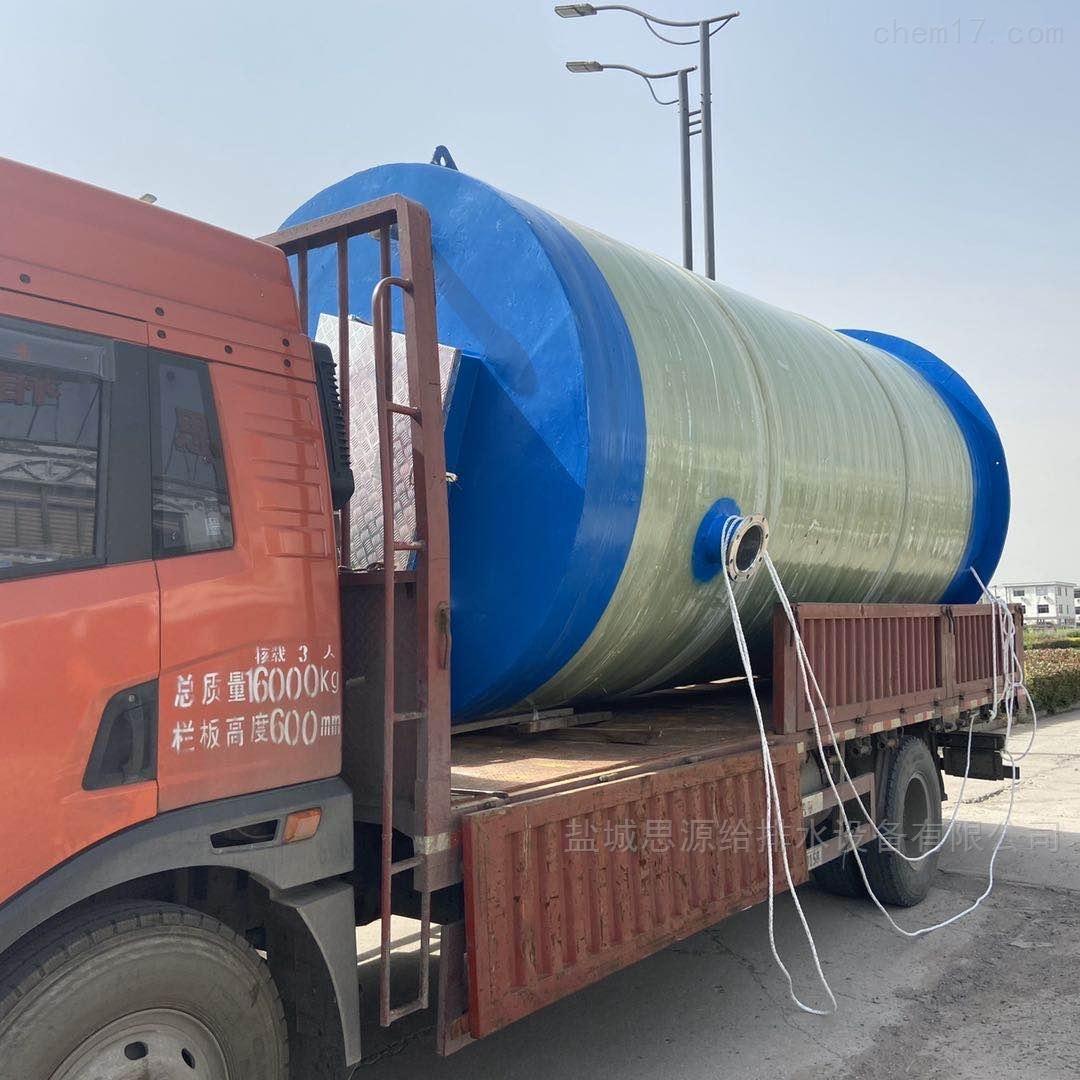 城市雨水强排泵站 一体化雨水提升泵站