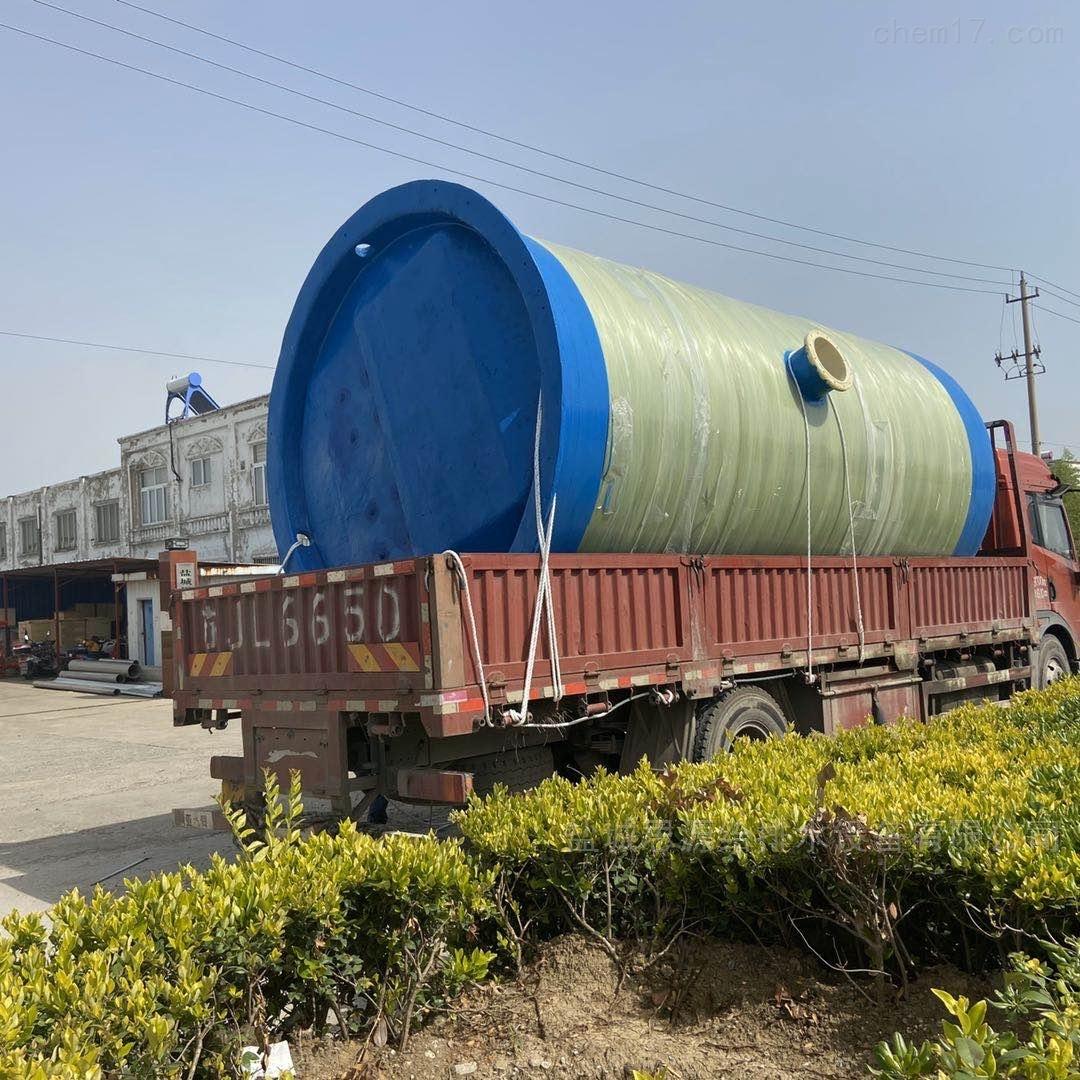 3800*6800地埋式一体化预制泵站项目介绍