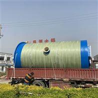 连云港一体化雨水提升泵站安装