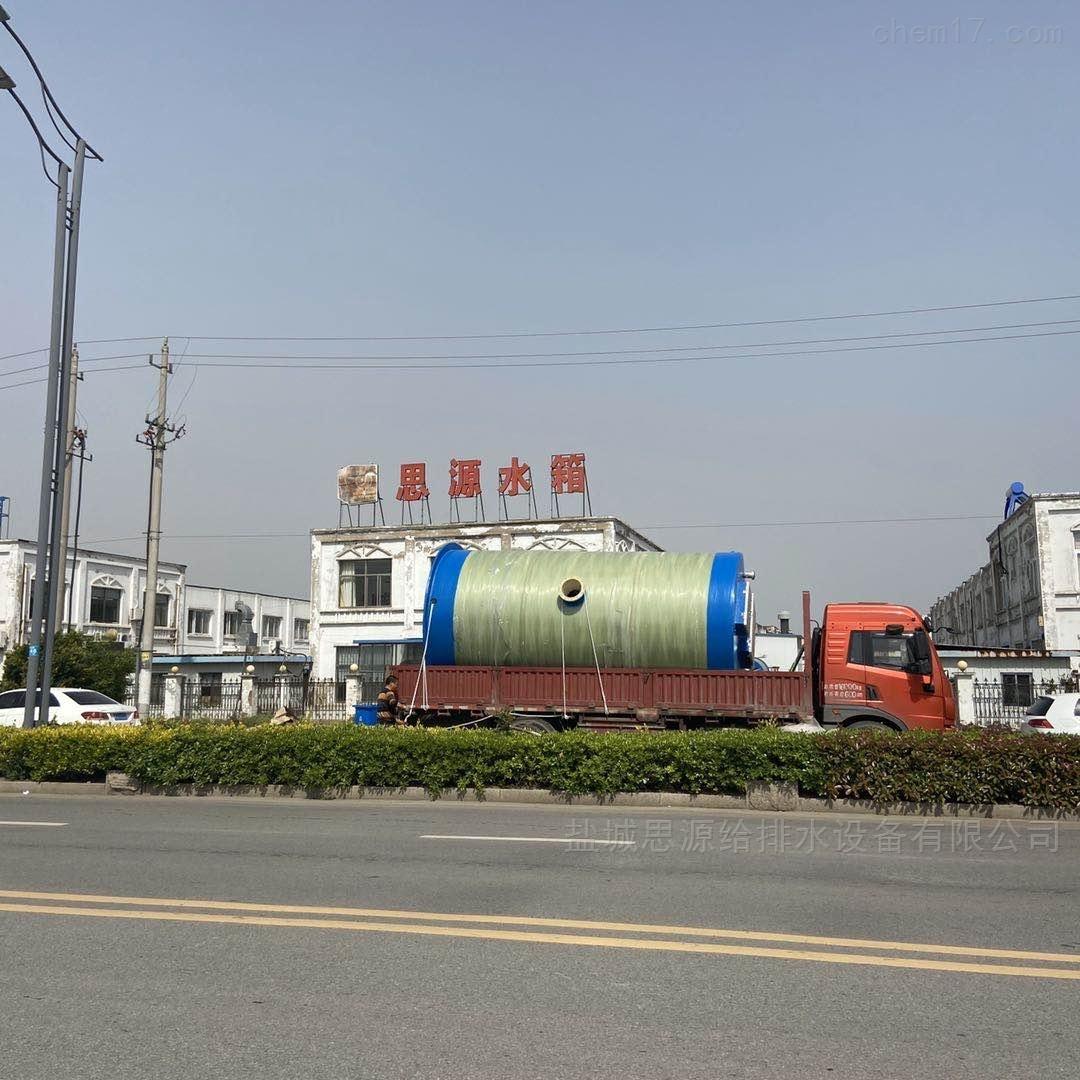 淮安三树一体化污水提升泵站现场安装