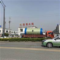 直径3米高6.8米地埋式一体化污水提升泵站