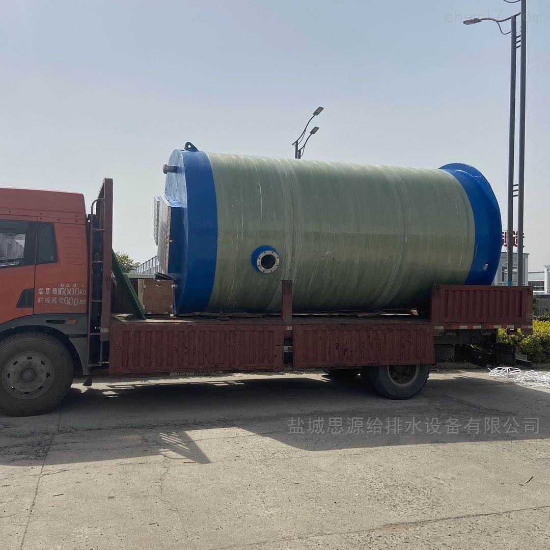 一体化污水提升泵站的作用