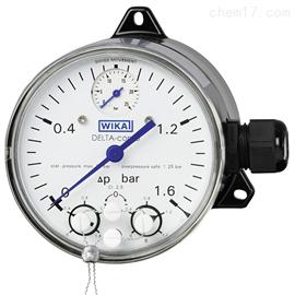 型号 DPGS40TA威卡WIKA带微动开关的差压表