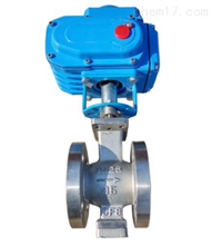 ZDRV-16R电动V型调节球阀