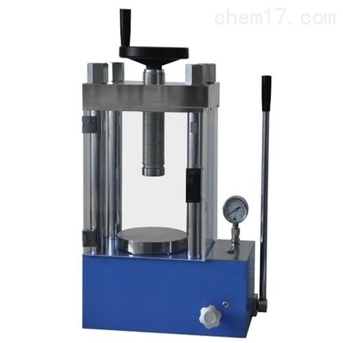 40吨防护型手动粉末压片机