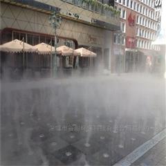 人造雾设备/降温加湿除尘/喷雾除尘系统