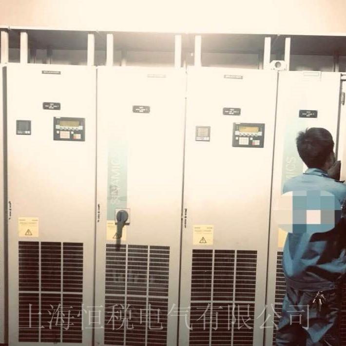 西门子变频器6SE70启动报故障上门检测中心