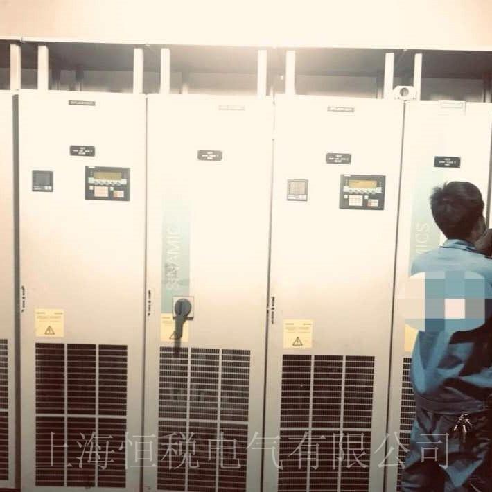 西门子变频器G150面板显示F07801解决方法