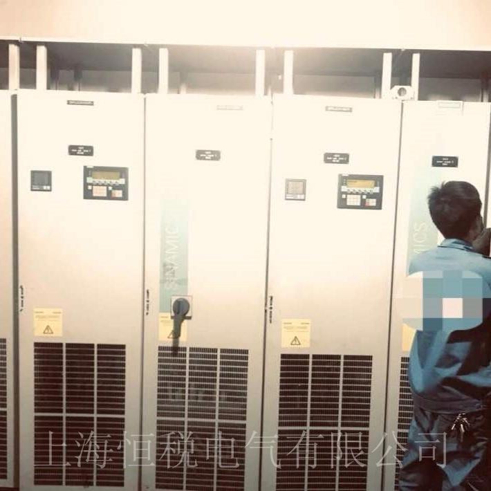 西门子变频器G150面板报警F30002故障维修