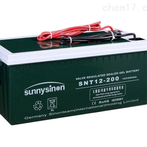 赛能蓄电池SNT12-200代理选购