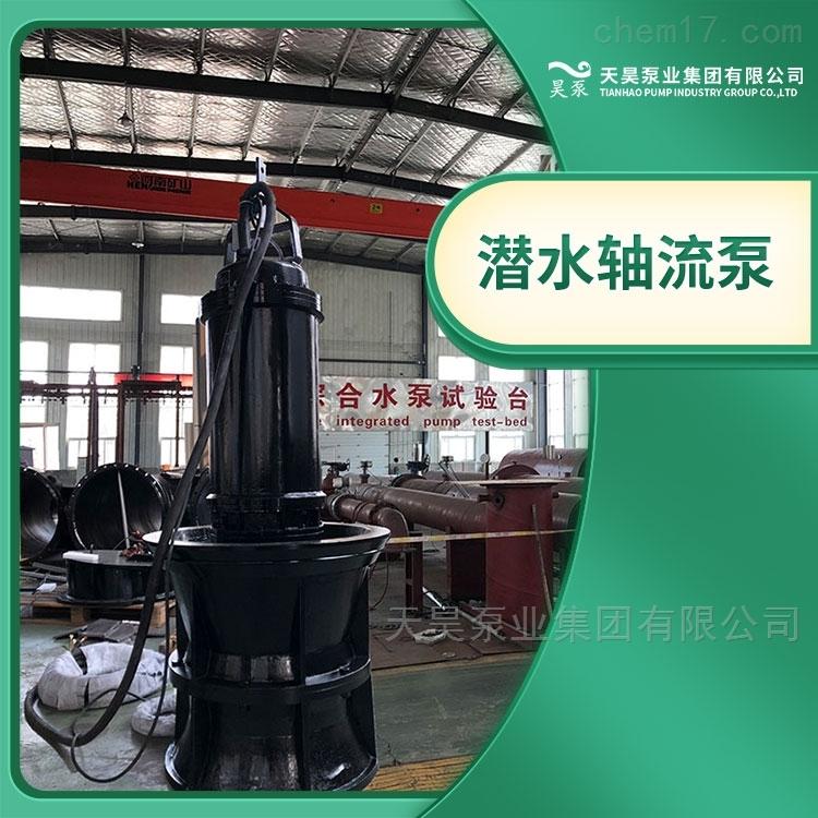 卧式安装350QZB潜水轴流泵生产厂家