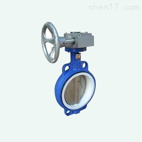 蜗轮传动对夹软密封蝶阀D371XP现货直销