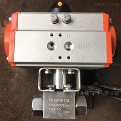 Q611F-500P DN15气动高压球阀