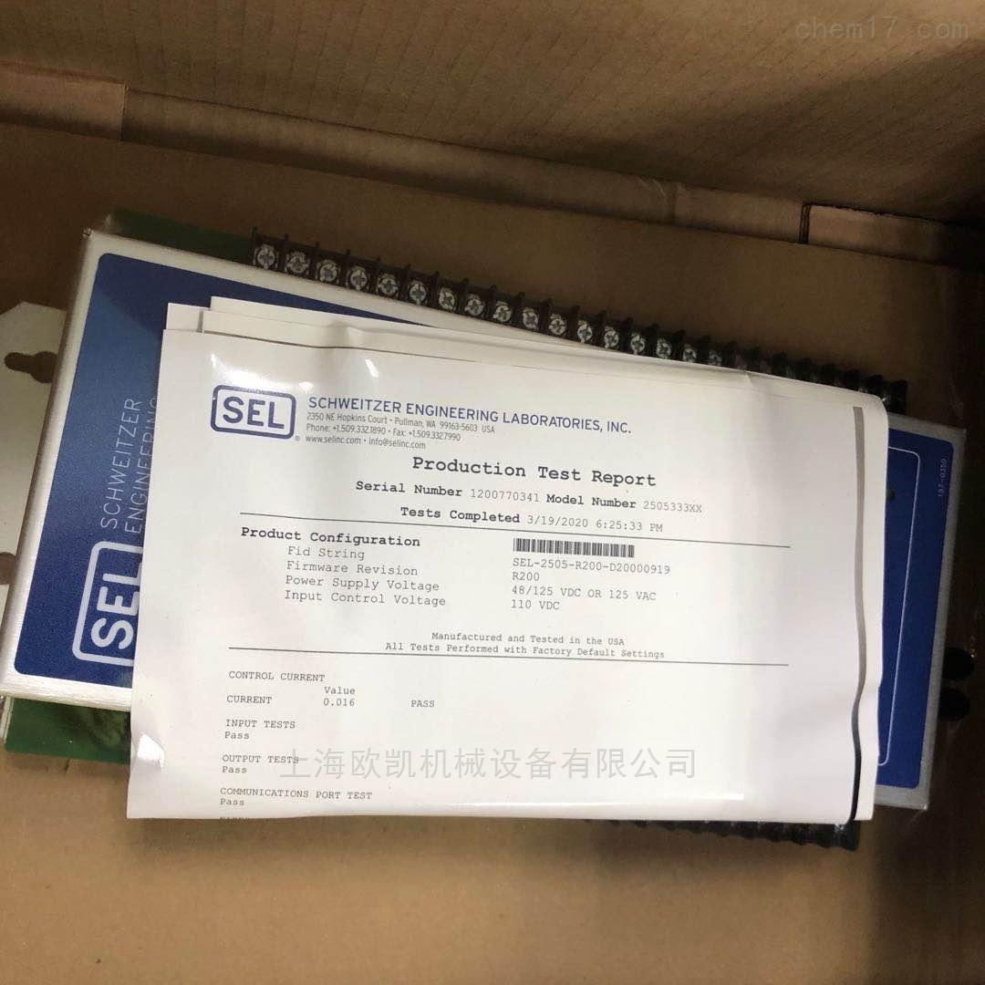 美国SEL危机保护装置751A系列正品原装直邮