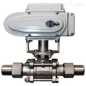电动外螺纹带焊接受球阀Q921F机能可靠